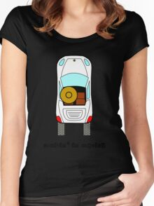 Mexican Hat cruisin'  Women's Fitted Scoop T-Shirt