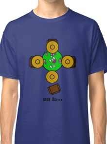 Mexican hats all in poker night Classic T-Shirt