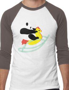 Panda Ride Men's Baseball ¾ T-Shirt