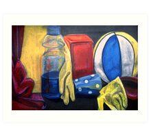 Still Life - chalks & pastels Art Print