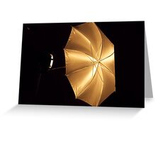 Studio Lighting  Aid Greeting Card
