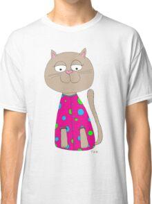 Cat in Jammy Jam's :) Classic T-Shirt