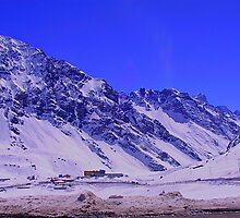 Chilean Mountains - Portillo by Daidalos