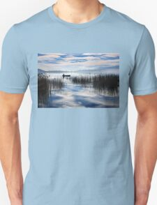 Rowing in the sky Unisex T-Shirt