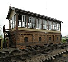 Wansford Signal Box by Edward Denyer