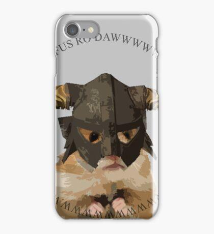 Fus Roh Dawwwwwwww iPhone Case/Skin