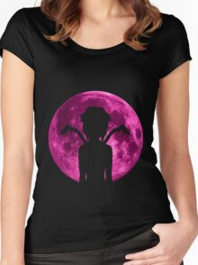 elfen lied lucy anime manga shirt Women's Fitted Scoop T-Shirt