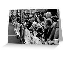 Finish Line Supporters Greeting Card
