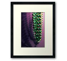 Cheap Green Framed Print