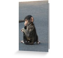 Excuse me Greeting Card
