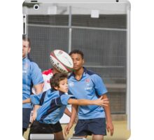 Students play Rugby iPad Case/Skin