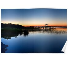 Predawn Tranquility Poster