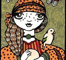 Cathy (Crystal Ball Reader) by Anita Inverarity