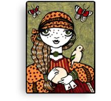 Cathy (Crystal Ball Reader) Canvas Print
