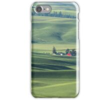 Palouse Valley farm iPhone Case/Skin