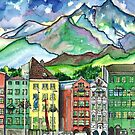 Cloudy Day in Innsbruck by mleboeuf