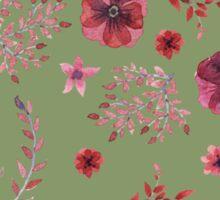 flowers watercolor  Sticker