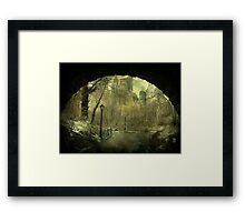 Escape to the big apple... Framed Print