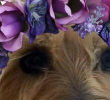 Flower Crown Peyton Sticker