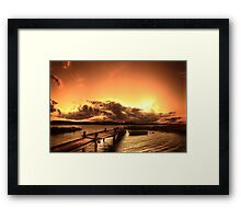 """Like the sun I never had..."" Framed Print"