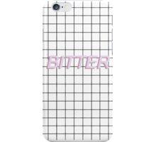 bitter - pink iPhone Case/Skin