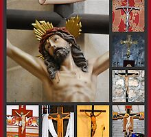Crucifixes of the Holy Land by Carol Clifford