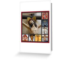 Crucifixes of the Holy Land Greeting Card