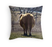 I'm Fluffy Not Fat Throw Pillow