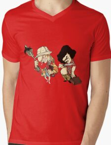 Just another freak, in the freak kingdom. Mens V-Neck T-Shirt