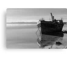 The Final Voyage, The Portlairge, Saltmills, County Wexford, Ireland Canvas Print