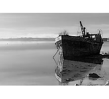 The Final Voyage, The Portlairge, Saltmills, County Wexford, Ireland Photographic Print