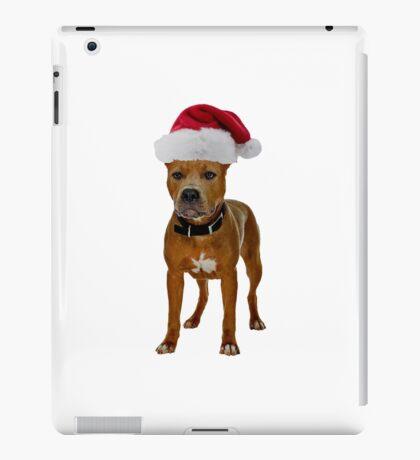 Pit Bull Christmas iPad Case/Skin