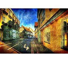 Left Turn Photographic Print