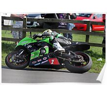 Racing at Oliver's Mount #1 Poster