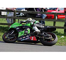 Racing at Oliver's Mount #1 Photographic Print