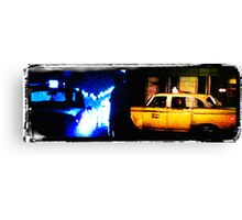 Taxi driver tribute Canvas Print