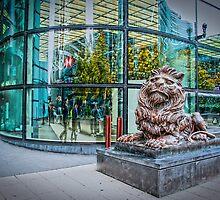 HSBC Bank: Lion by DonDavisUK