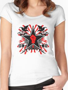 Revolution theme Women's Fitted Scoop T-Shirt