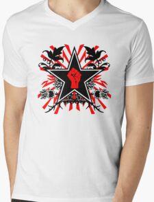 Revolution theme Mens V-Neck T-Shirt