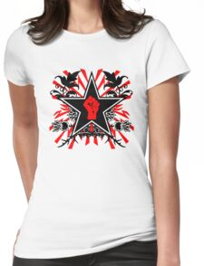 Revolution theme Womens Fitted T-Shirt