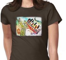 DIY Revolution Evolution Womens Fitted T-Shirt