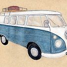 My Dream Camper Van by Pamela Stirling