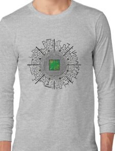 the maze of the maze runner Long Sleeve T-Shirt