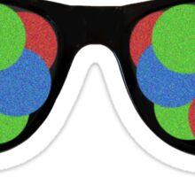 Colorful Sunglasses Sticker