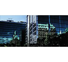 Reflecting On New & Old Architecture Photographic Print