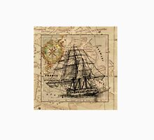 Old ship map  Unisex T-Shirt