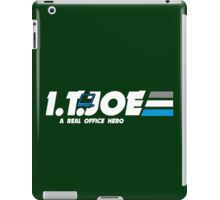 IT Joe a real office hero iPad Case/Skin