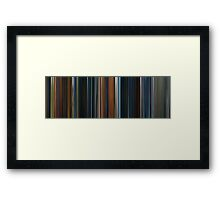 Moviebarcode: The Lord of the Rings: The Fellowship of the Ring (2001) Framed Print