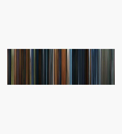 Moviebarcode: The Lord of the Rings: The Fellowship of the Ring (2001) Photographic Print