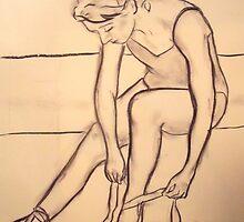 Dancer Study #1 by cjmrowlands